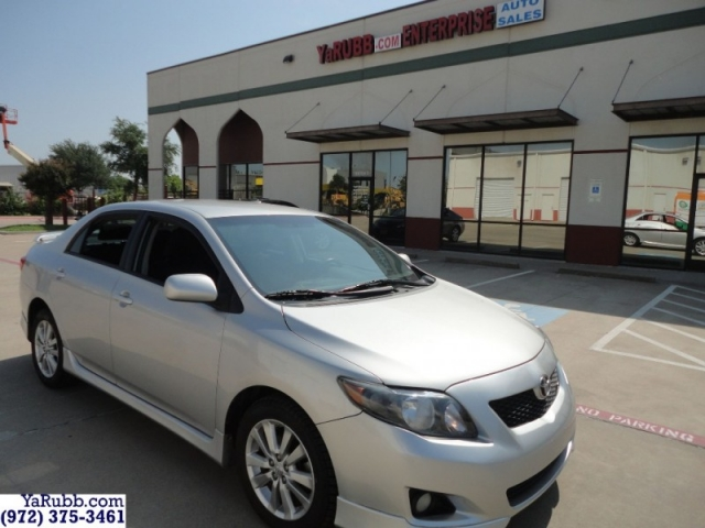 2010 Toyota Corolla S New Tires CARFAX Cert