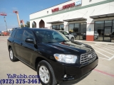 Toyota HIGHLANDER SE Leather Sunroof 2010