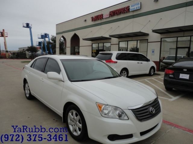 2008 Toyota Avalon XL Leather Service Record New tires