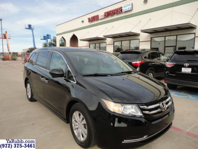 2015 Honda Odyssey EXL 1 Owner Carfax Cert