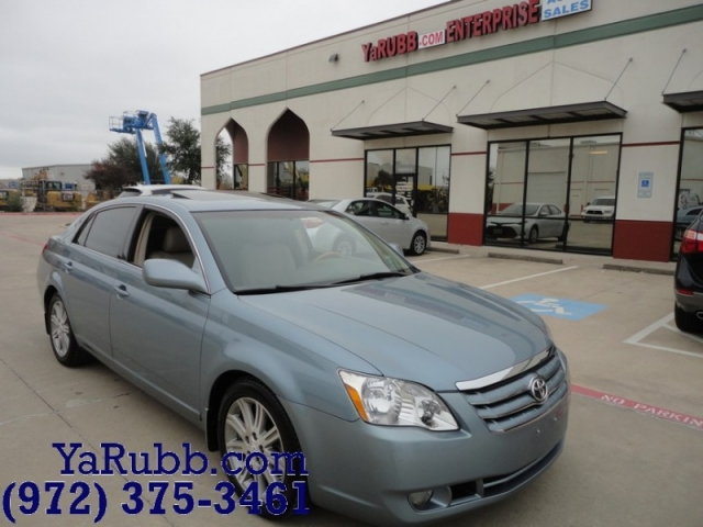 2007 Toyota Avalon Limited Lthr Snrf Nav Parking Sensors