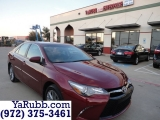Toyota Camry SE Leather Alloys CARFAX Cert 2016