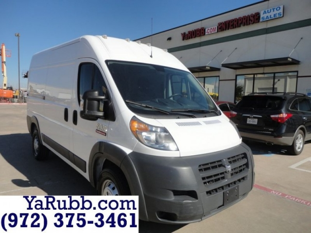 2017 RAM ProMaster Cargo Van High Roof
