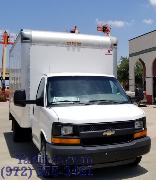 Chevrolet Express 16 ft Box Truck Commercial Cutaway 118k mi 2014 price $14,990