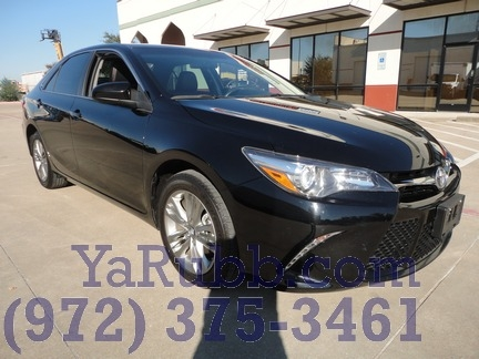 Toyota Camry SE 1 Owner Leather CARFAX Cert 2017 price $16,250