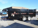 PJ Trailers HIGH SIDE DUMP 16'X83