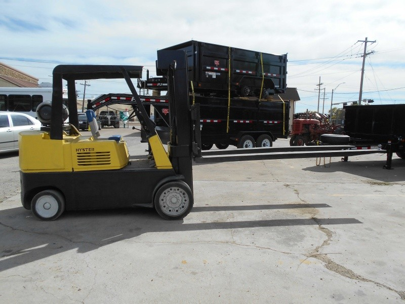 2000 HYSTER FORKLIFT 5' FORKS - Automart Of Dallas | Auto ...