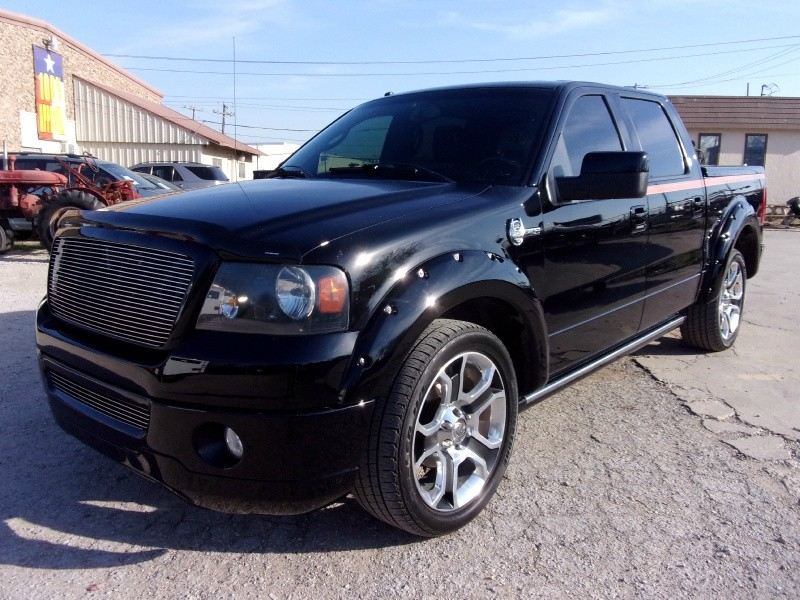 2008 Ford F 150 2wd Supercrew 139 Harley Davidson