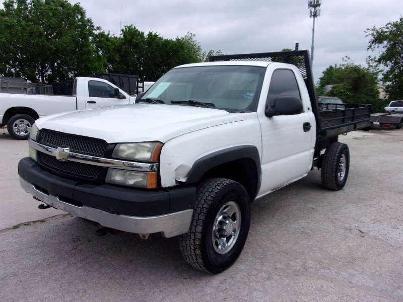 2004 chevrolet silverado 2500hd reg cab 133 wb work truck automart of dallas auto dealership. Black Bedroom Furniture Sets. Home Design Ideas