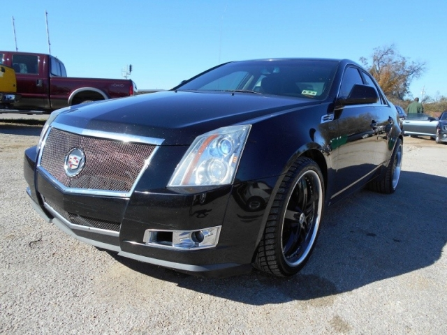 2008 Cadillac Cts 4dr Sdn Rwd W 1sa Automart Of Dallas Auto