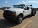 Ford F450 FLAT BED 7.3L POWER STROKE DIESEL 2001