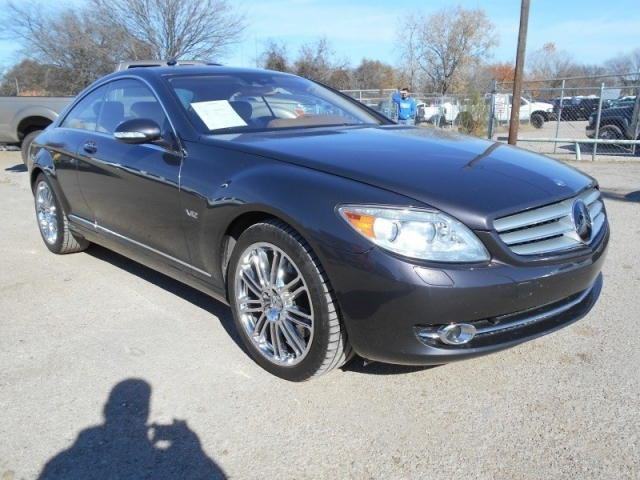 2007 Mercedes-Benz CL600 LOADED PARK PLACE TRADE