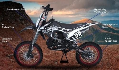 2017 BMS PRO-X 125 DIRT BIKE