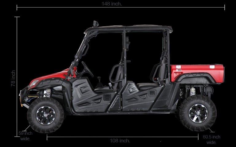 BMS RANCH PONY 4 SEAT 2020 price $10,490