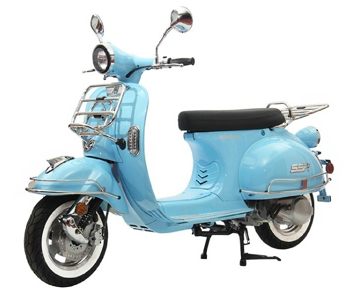 turino cc classic style scooter arizona motor cycles mopeds scooters  road