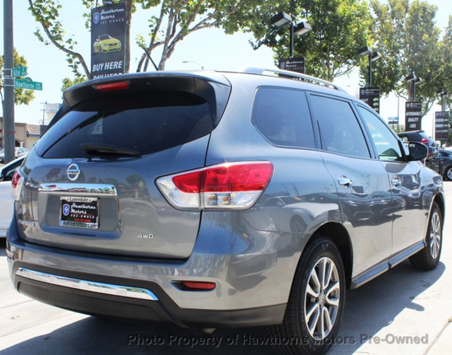 Nissan Pathfinder 2015 price $15,695