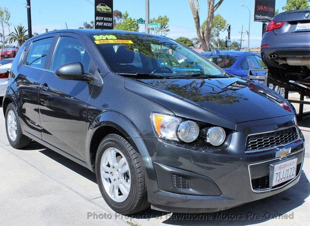 Chevrolet Sonic 2016 price $8,995