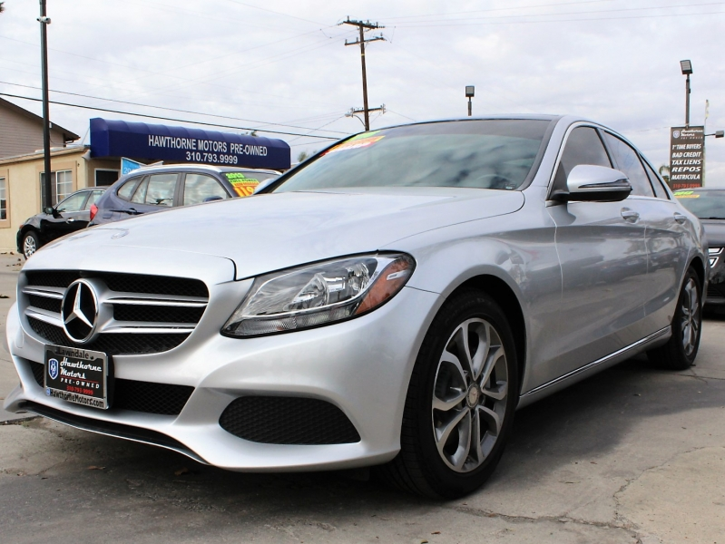 Mercedes-Benz C-Class 2016 price $20,495