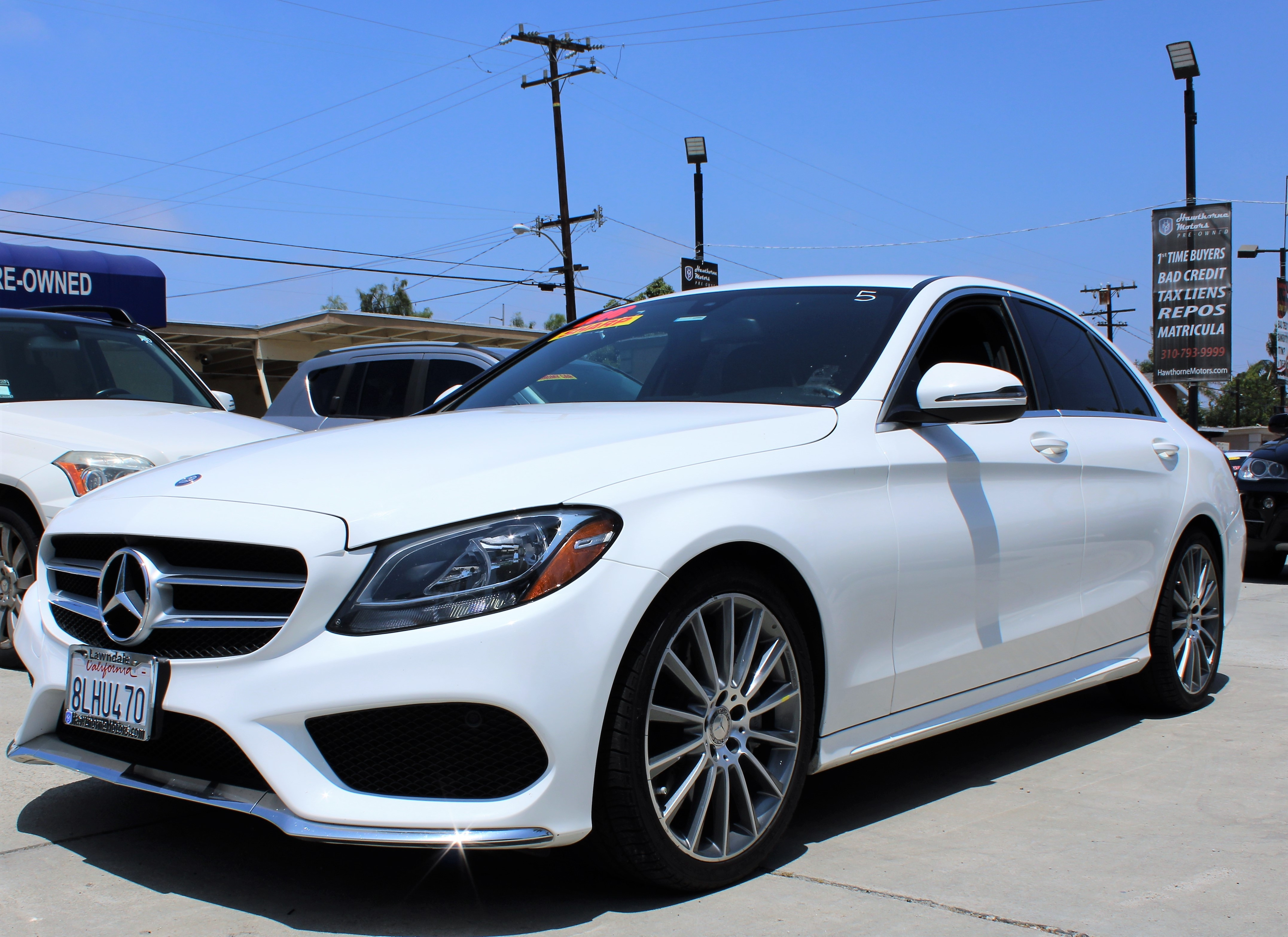 Preowned 2016 MERCEDES-BENZ C-Class 4dr Sdn C 300 RWD for sale by Hawthorne Motors Pre-Owned in Lawndale, CA