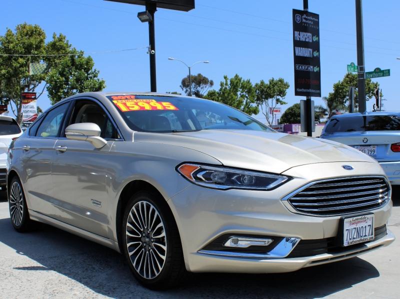 Ford Fusion Energi 2017 price $15,959