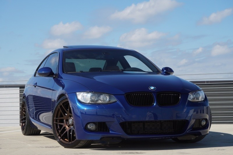 2009 bmw 3 series 335i m sport package 73250 miles blue coupe a used bmw 3 series. Black Bedroom Furniture Sets. Home Design Ideas