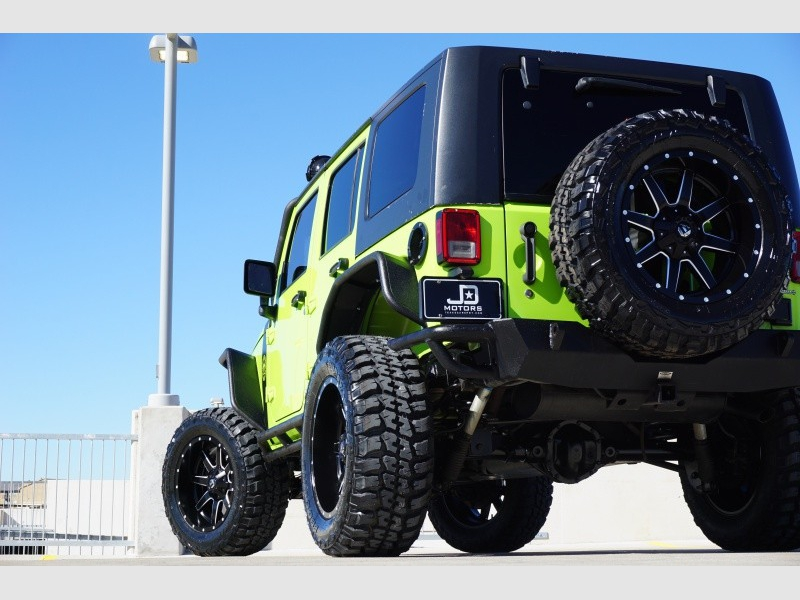 Jeep Wrangler Unlimited 2012 price $27,998