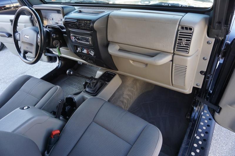 Jeep Wrangler Sahara 2003 price $14,995