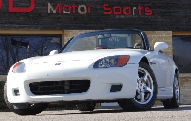 2000 Honda S2000 White W Red Interior