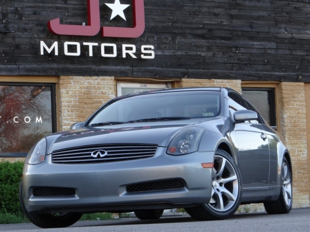 2004 Infiniti G35 Coupe W Aero Package Inventory Jd Motors