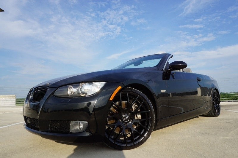 2007 bmw 3 series 335i convertible twin turbo 6 speed manual 96700 miles black c used bmw 3. Black Bedroom Furniture Sets. Home Design Ideas