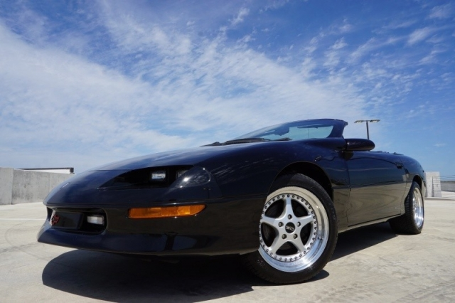 1995 chevrolet camaro convertible z28 supercharged fa used chevrolet camaro for sale in. Black Bedroom Furniture Sets. Home Design Ideas