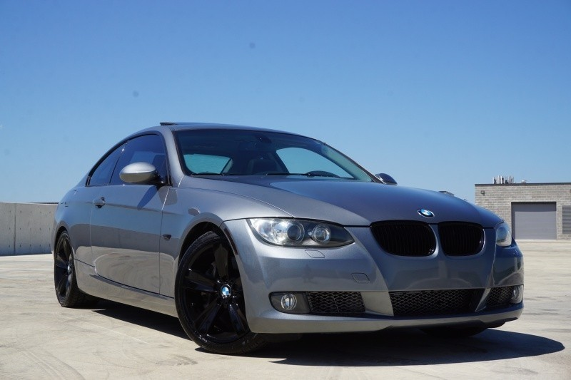 2009 bmw 3 series 335i coupe twin turbo 6 speed manual 79700 miles gray coupe 3 used bmw 3. Black Bedroom Furniture Sets. Home Design Ideas