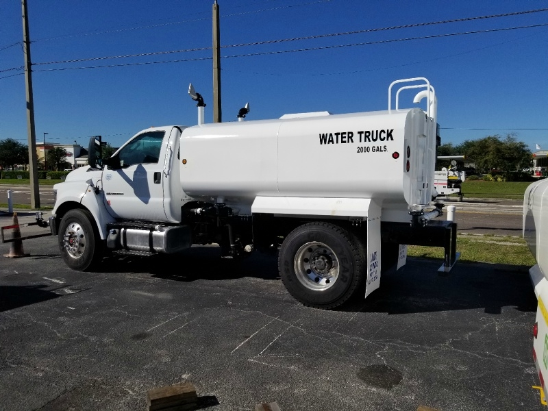 Ford F750 Water Truck 2016 price $59,500