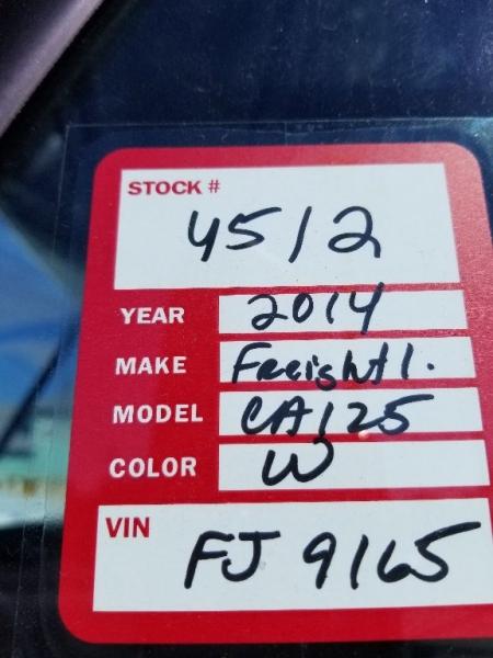 Freightliner CA125 CASCADIA 2014 price $13,500