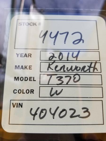 Kenworth T370 2014 price $39,500