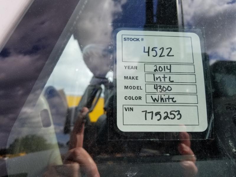 International 4300 16FT DUMP TRUCK 2014 price $29,500