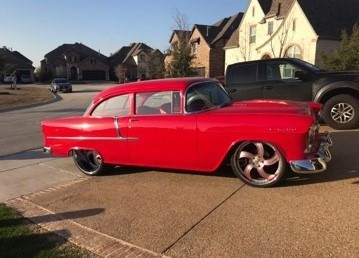 Chevrolet Bel Air 1955 price CALL