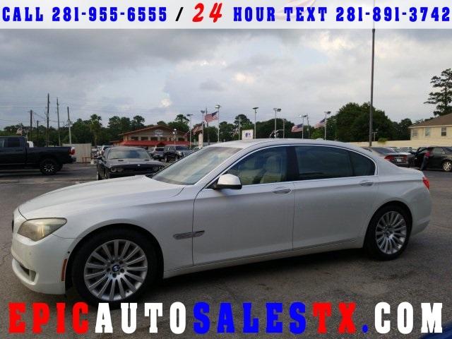 BMW 750 LI 2009 price Call for Pricing.