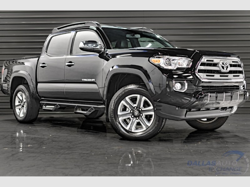 Toyota Tacoma Limited 2017 price $32,989