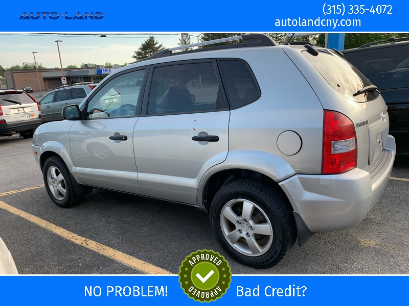 Hyundai Tucson 2007 price $3,895