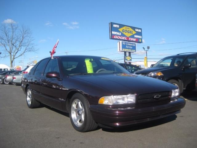 1996 Chevrolet Caprice Classic/Caprice Police/Taxi Pkgs/Impala S
