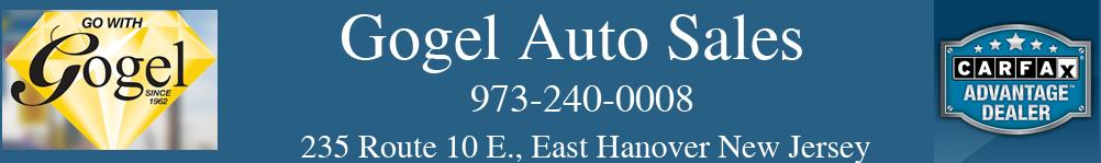 Gogel Auto Sales. (973) 240-0008