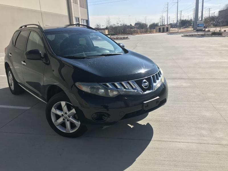 Nissan Dealerships Dfw >> 2009 Nissan Murano S Awd 4dr Suv