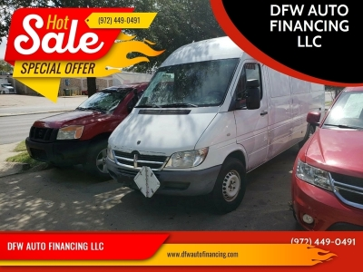 2006 Dodge Sprinter Cargo 2500 High Roof 158 WB 3dr Extended Cargo Van high ceiling $9995 CASH PLUS