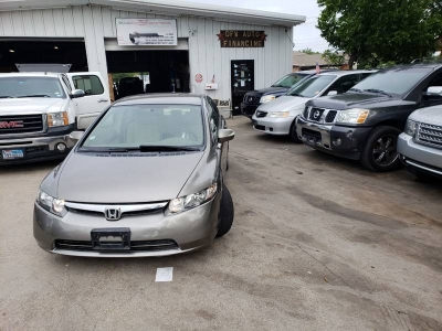 2007 Honda Civic Hybrid w/Navi 4dr Sedan