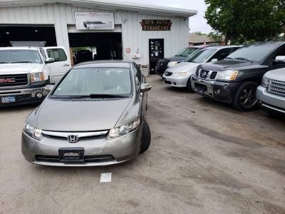 2007 Honda Civic Hybrid w/Navi 4dr Sedan 122k $5995 cash+TTL