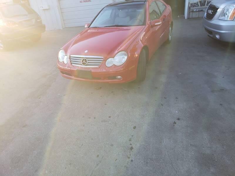 Mercedes-Benz C-Class 2002 price $3,500