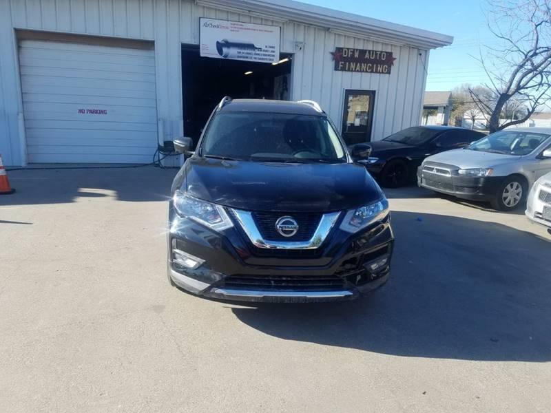 Nissan Dealerships Dfw >> 2018 Nissan Rogue Sv 4dr Crossover