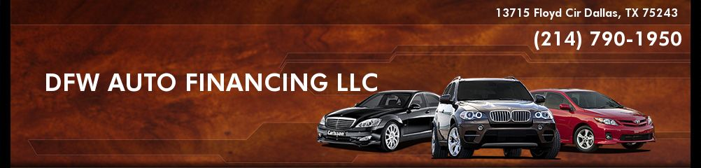 DFW AUTO FINANCING LLC. (214) 790-1950