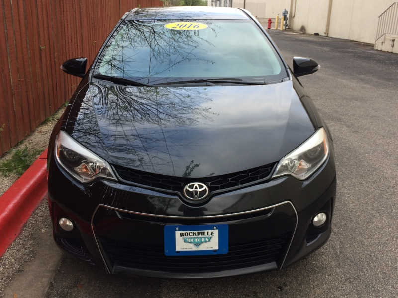 Toyota Corolla 2016 price $10,785 Cash